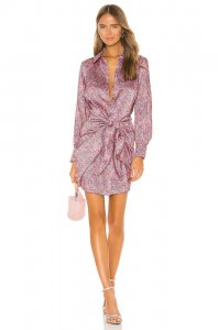Cinq a Sept Gaby Dress in Psychedelic Paisley
