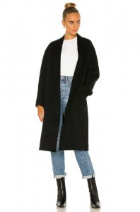 LAMARQUE Thara Coat in Black