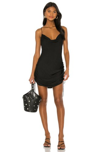 Free People Day To Night Slip Dress in Black