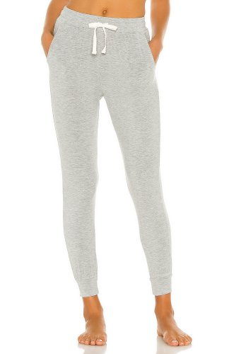 Stripe & Stare Loungepant in Grey Marl