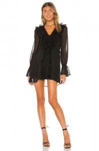 Tularosa Mona Dress in Black