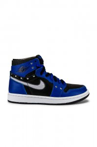 Jordan Air Jordan 1 Zoom Comfort Sneaker in Hyper Royal, Black,